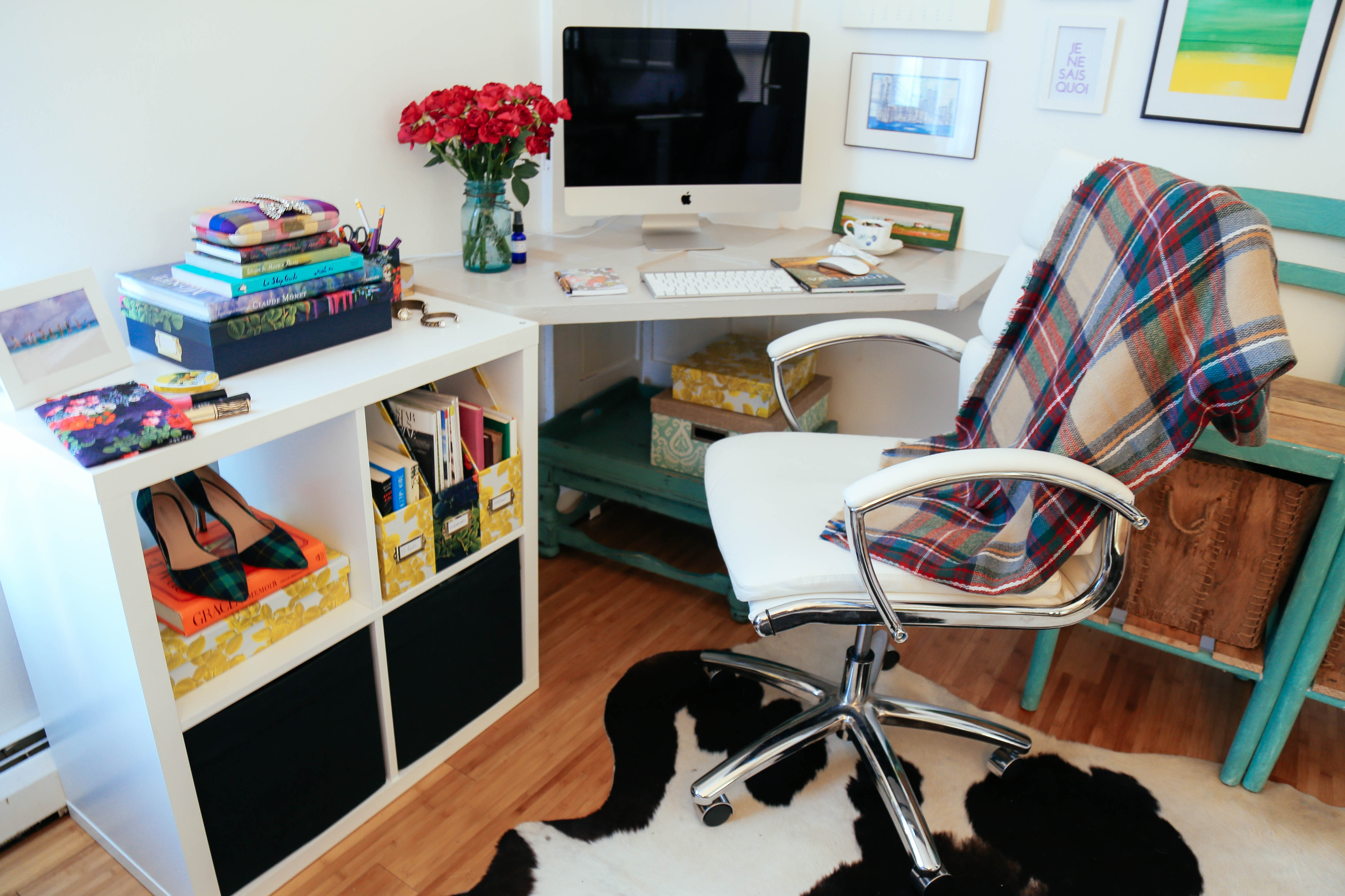 . Holiday Home Office Makeover