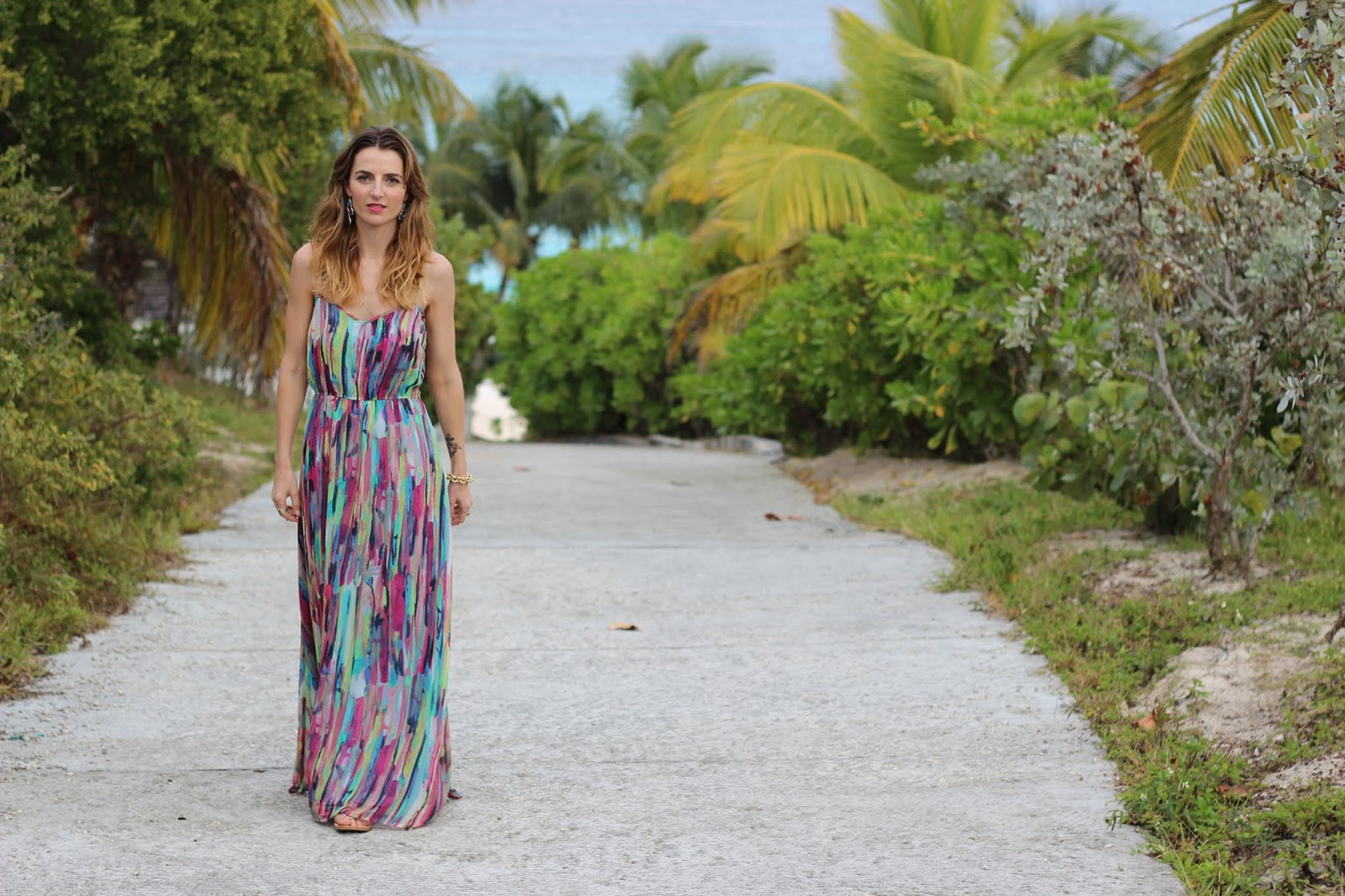 RAINBOW MAXI DRESS | Jess Ann Kirby