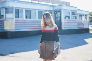 FALL MUST HAVE: THE SUEDE SKIRT