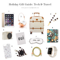 TECH AND TRAVEL GIFT GUIDE + SALES TO SHOP EARLY
