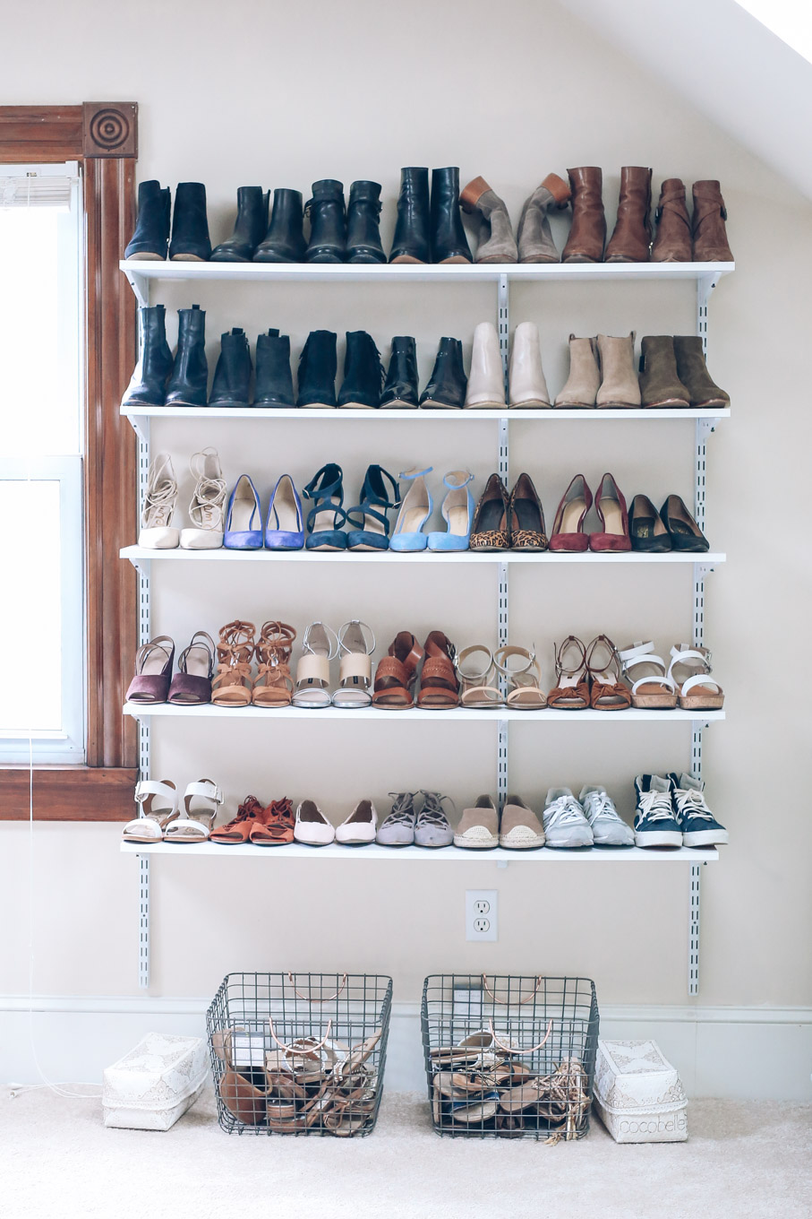 5 Chic Storage Ideas For Shoe Lovers Rl