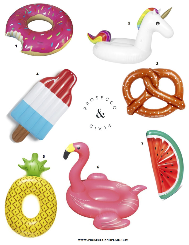 FUN POOL FLOATS FOR SUMMER