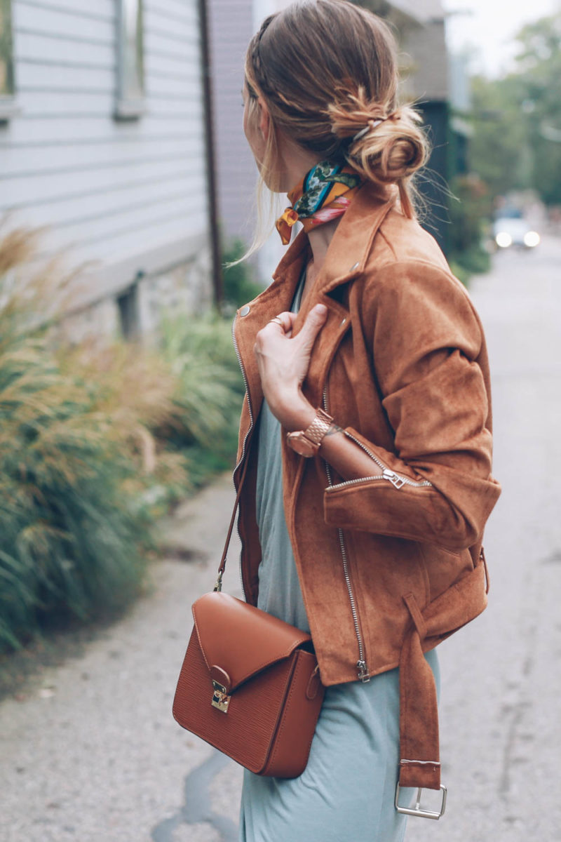 5 Suede Moto Jackets for Fall