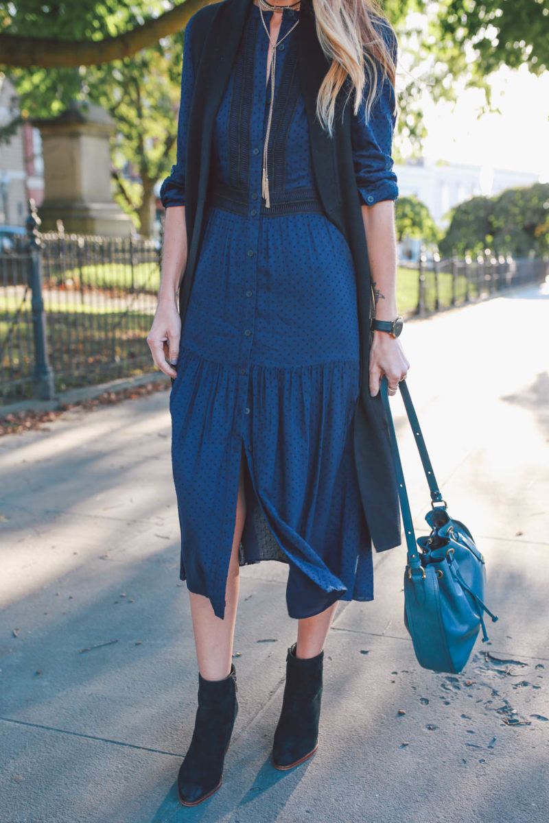 Yes You Can Wear Navy and Black Together