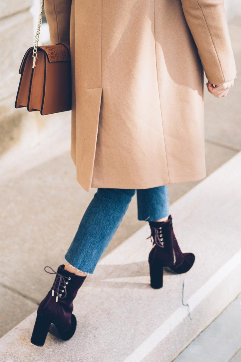 Must-Have Trend of the Season: Burgundy Velvet Boots