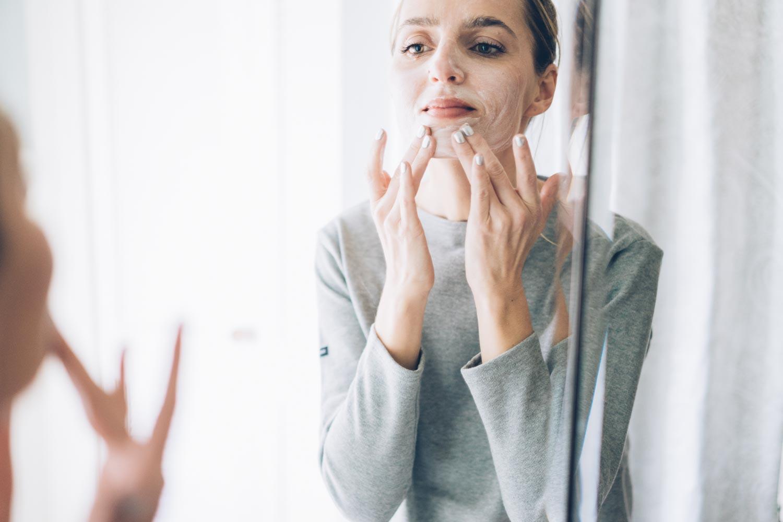 Jess Ann Kirby takes a holistic approach to skincare to help heal hormonal acne