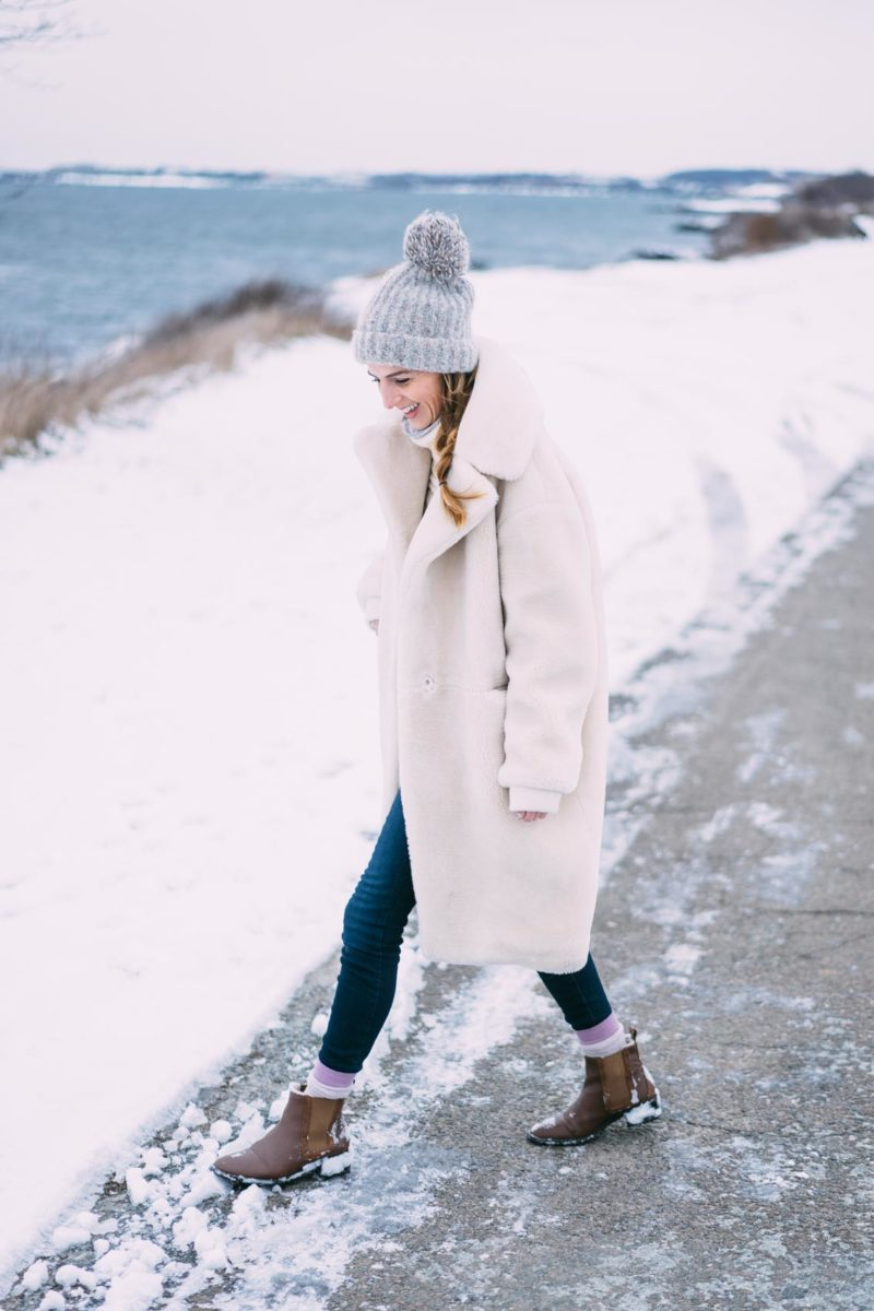 6 Winter White Faux Fur Coats