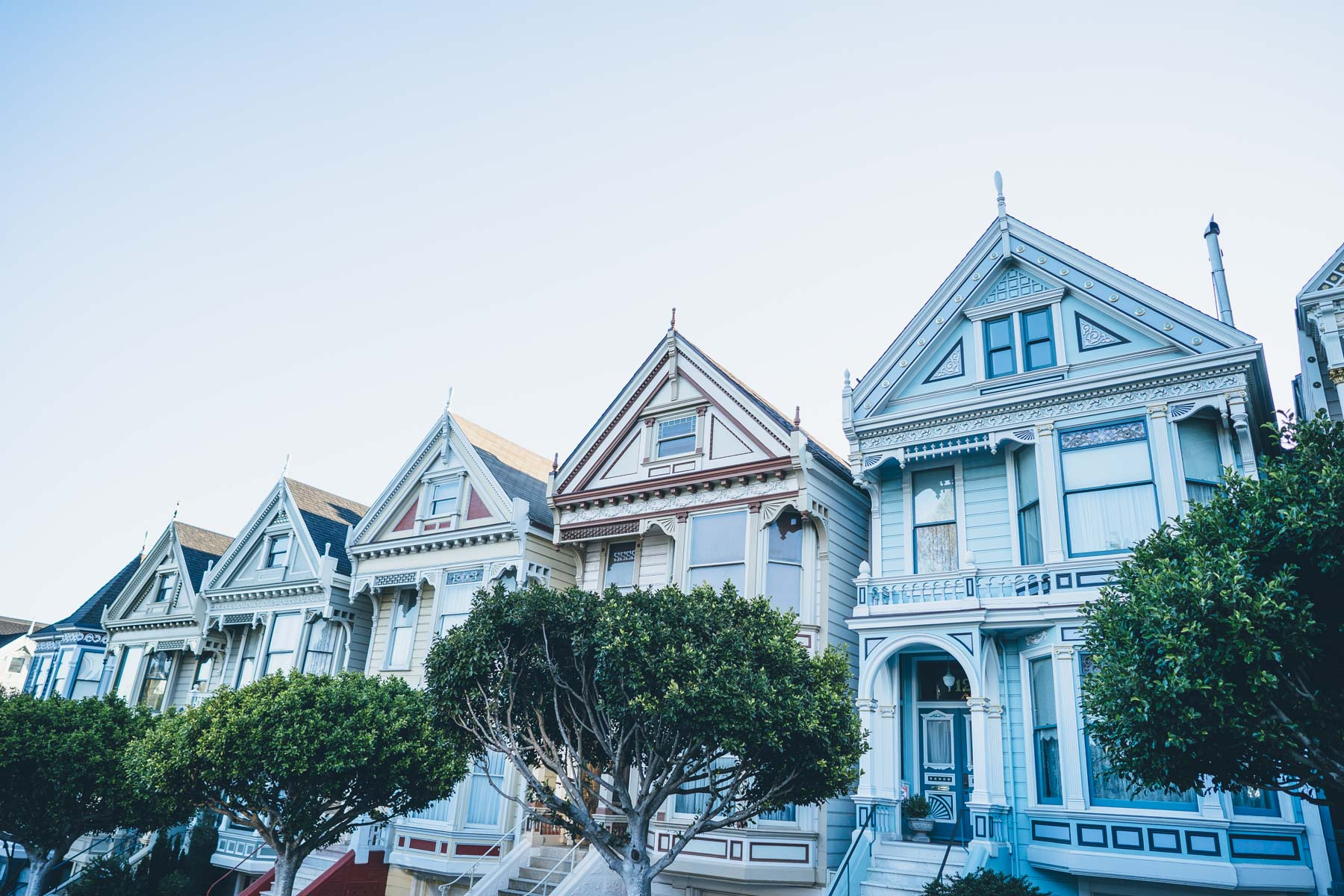 Jess Ann Kirby visits a San Francisco landmark on her recent trip, the Painted Ladies