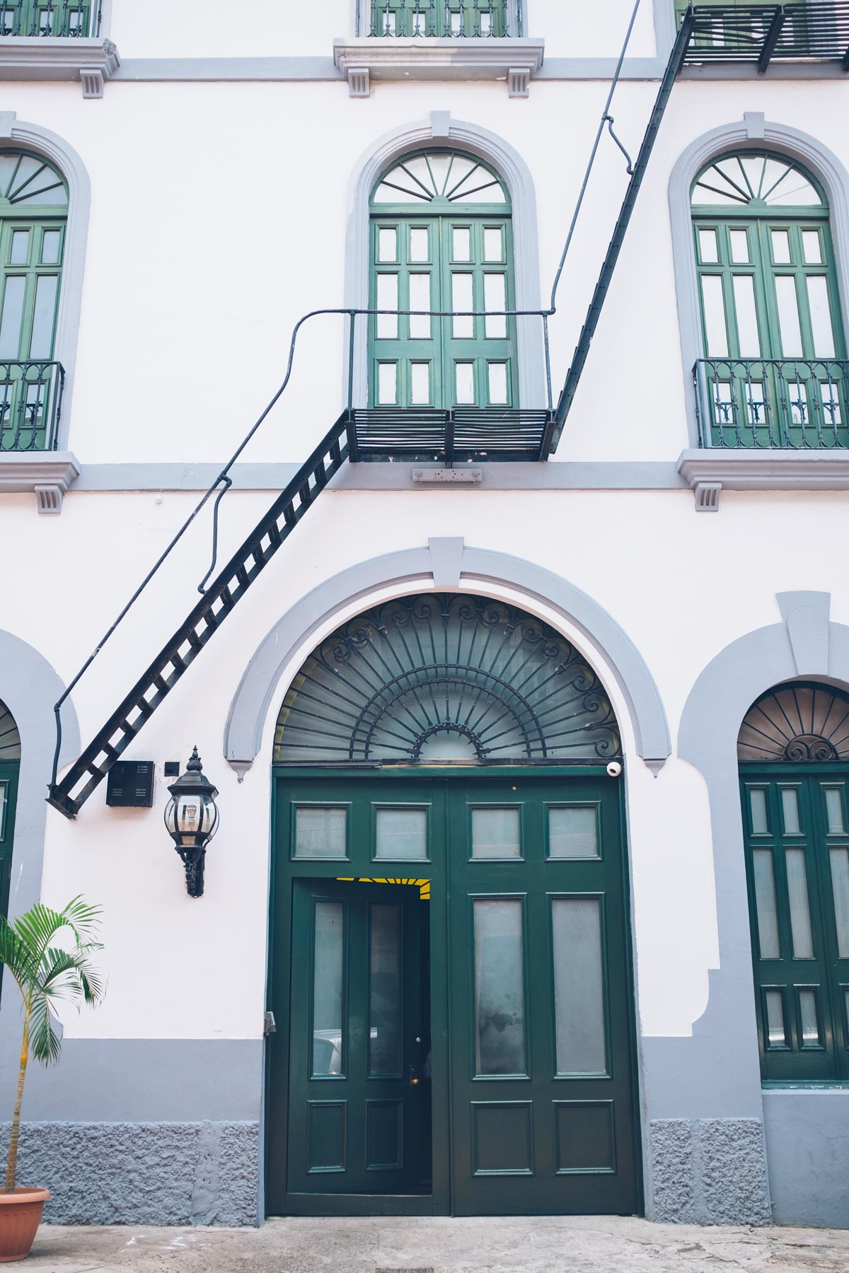 Stunning architectural details in Casco Viejo, Panama City