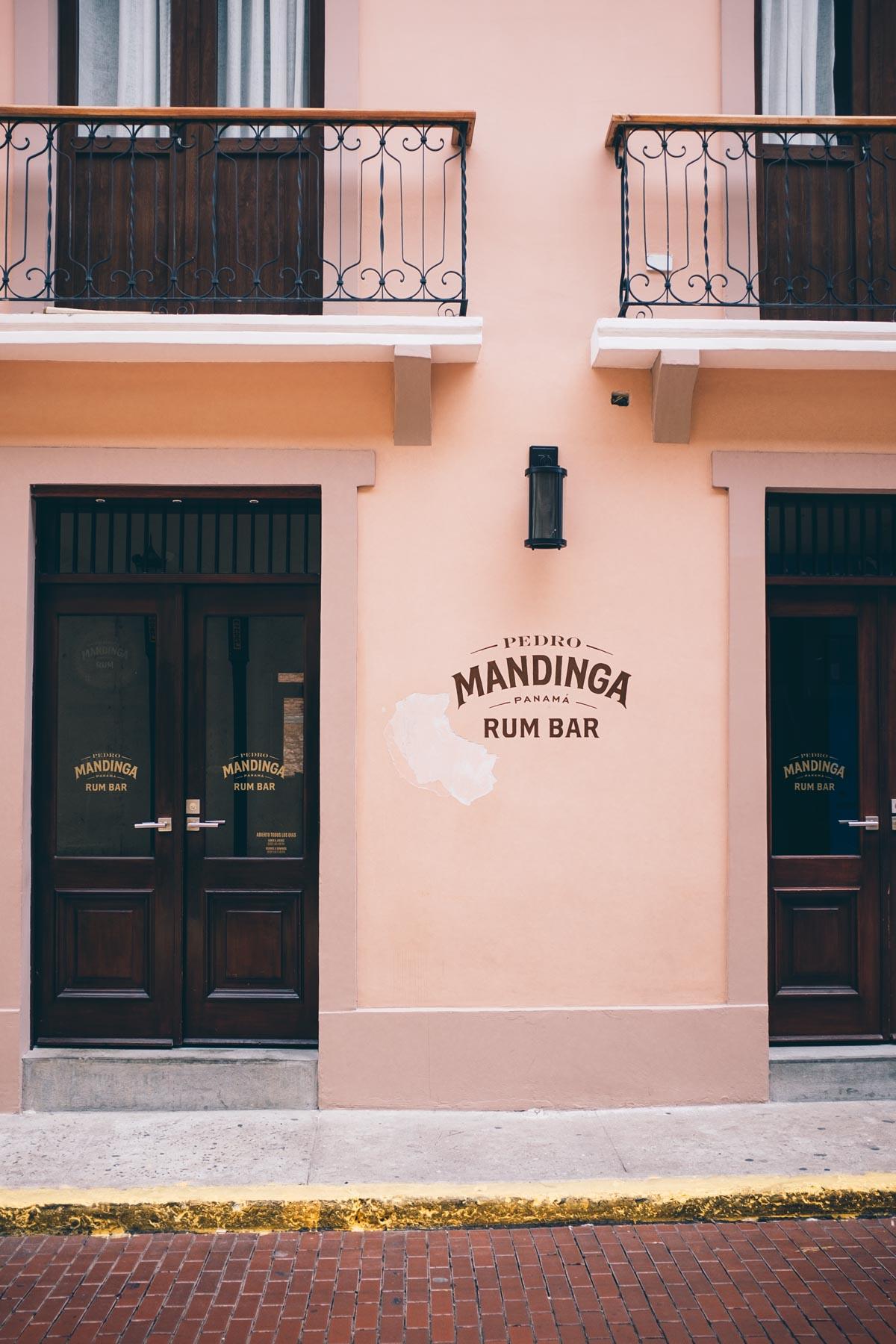 Mandiga Rum Bar in Casco Viejo, Panama City