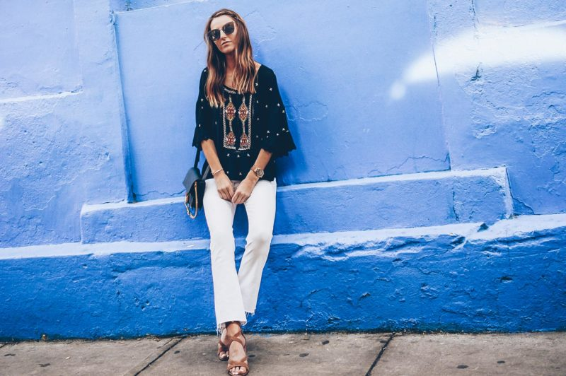 Making the Case for White Jeans