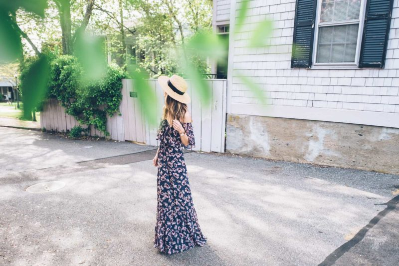 8 Off the Shoulder Floral Maxi Dresses For Every Budget