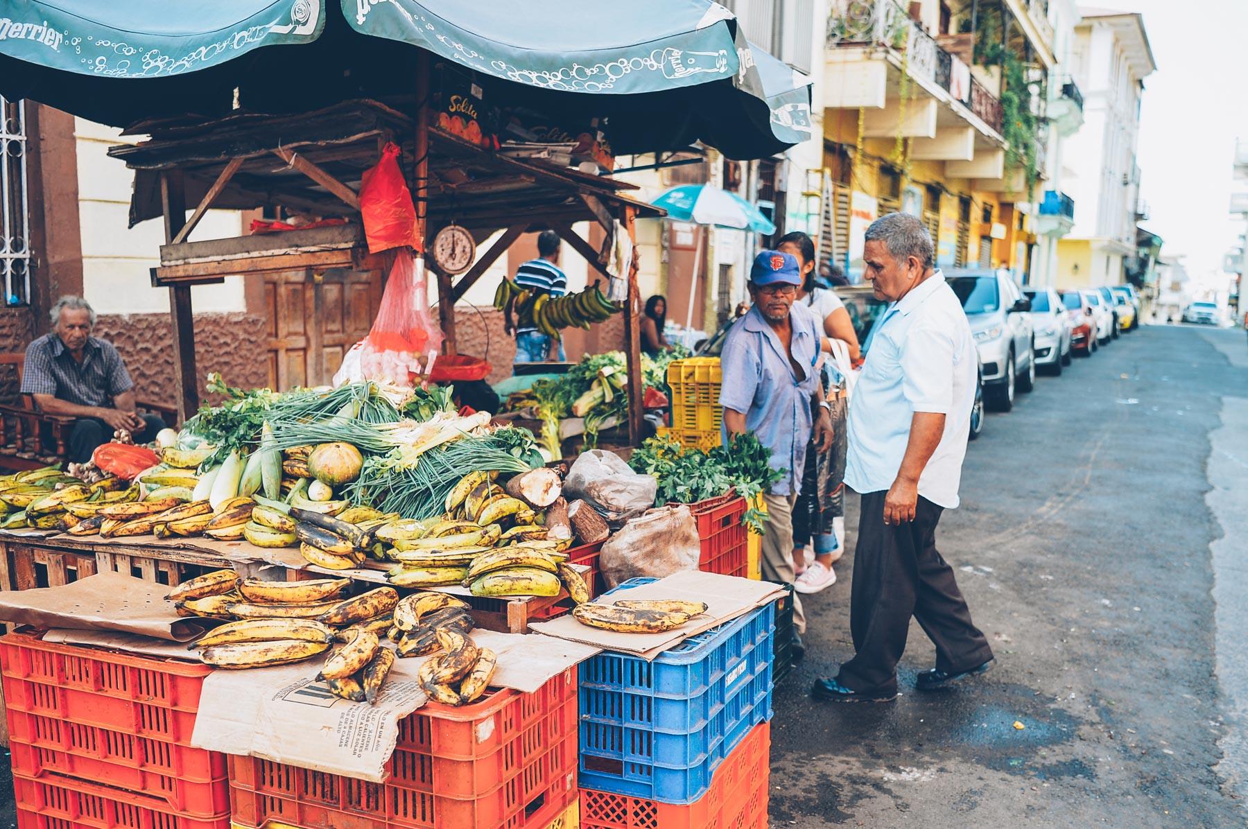 A Fruit Market in Casco Viejo from Jess Kirby's Panama City Travel Diary