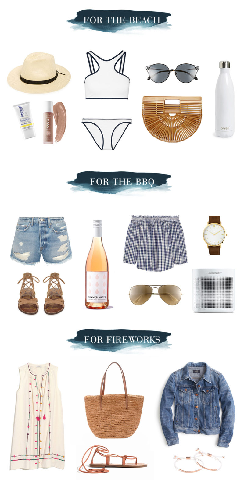 Memorial Day Outfit Ideas from Beach to BBQ