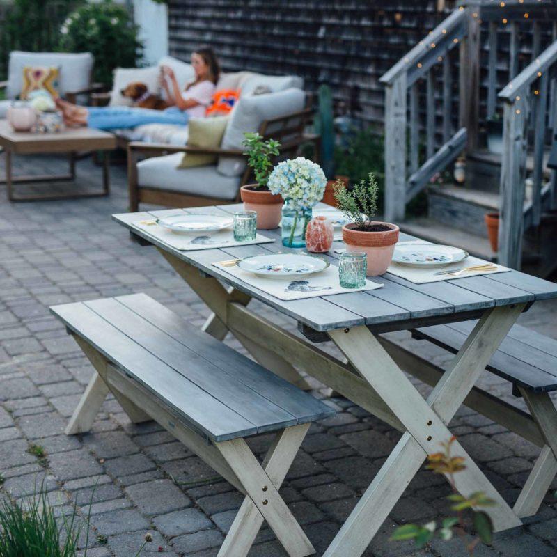 Our Outdoor Patio Design