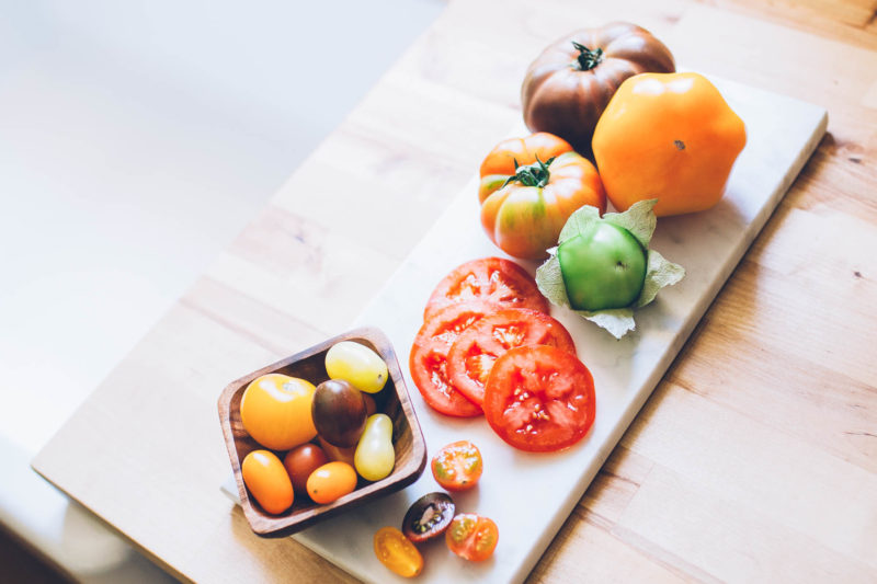 Summer Cooking: Tomato Varieties