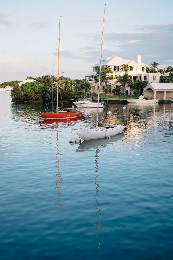 Harbor Views from the Fairmont Princess Hamilton, Jess Ann Kirby's Bermuda travel diary.