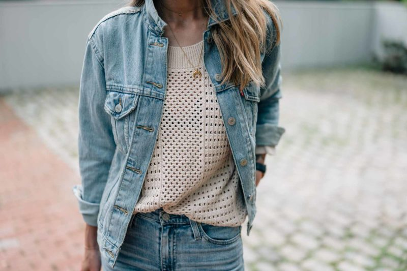 How to Style Denim on Denim this Summer