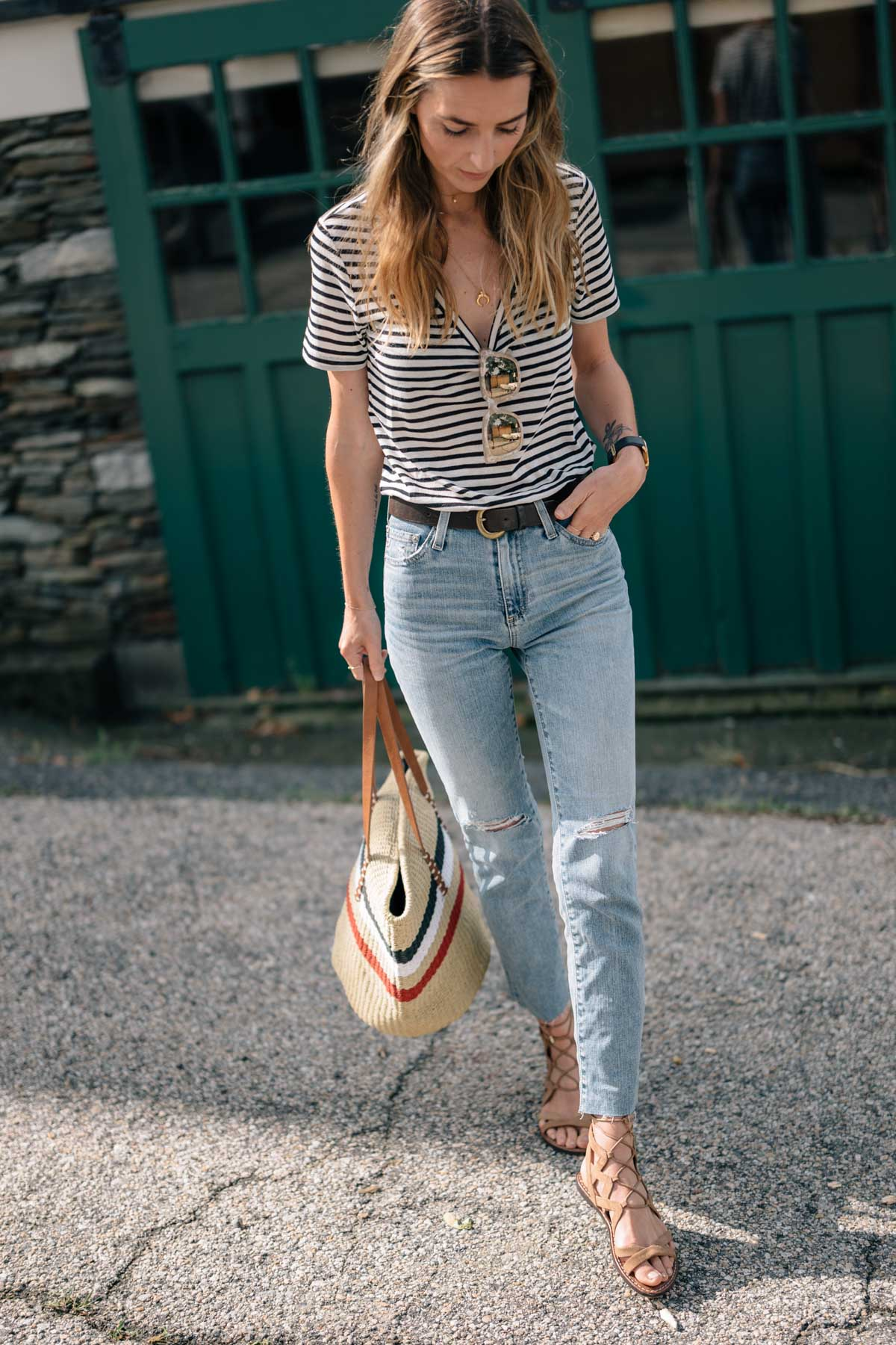 how to nail french girl style this summer  jess ann kirby