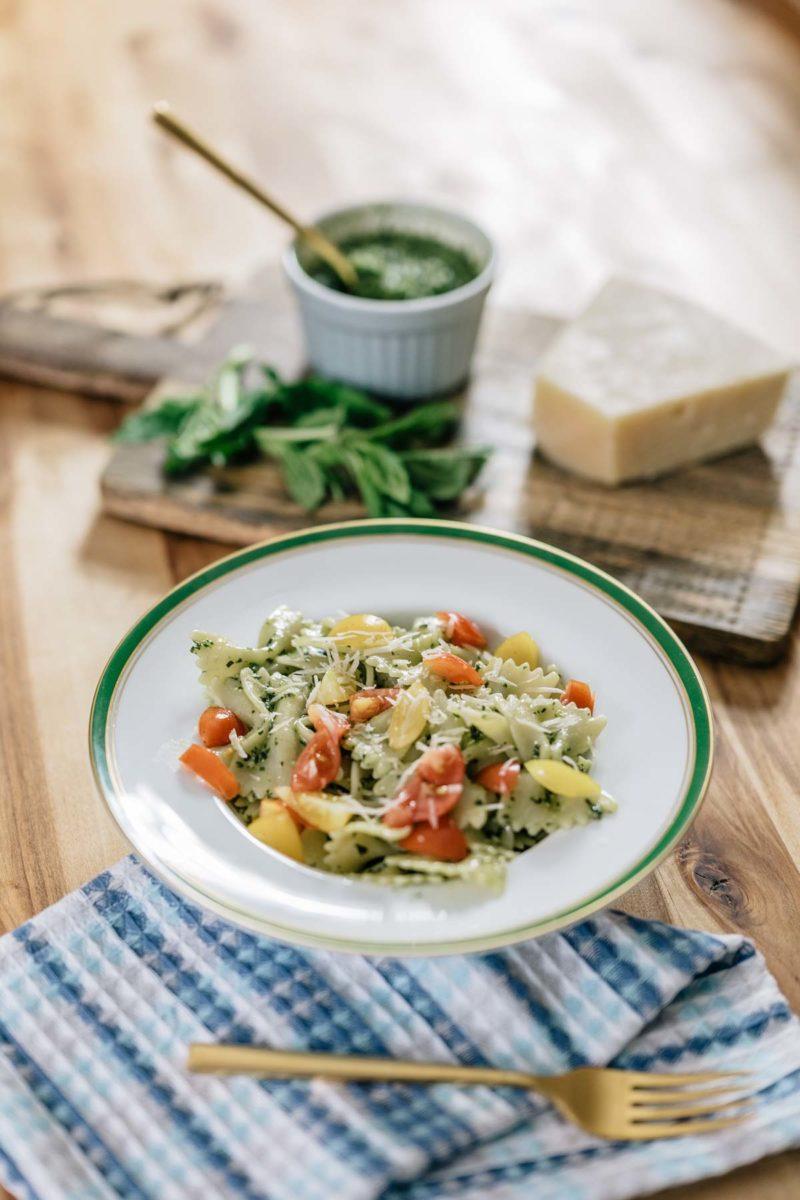 Easy Homemade Basil Pesto Recipe