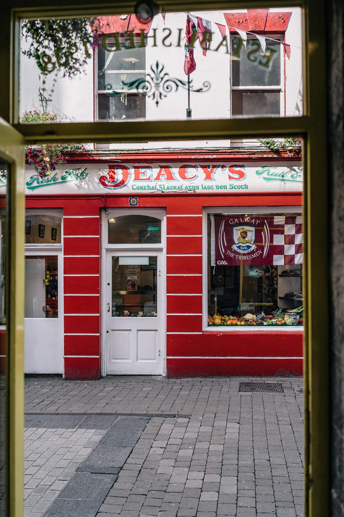 Ireland Travel Diary Jess Ann Kirby Galway Store Front