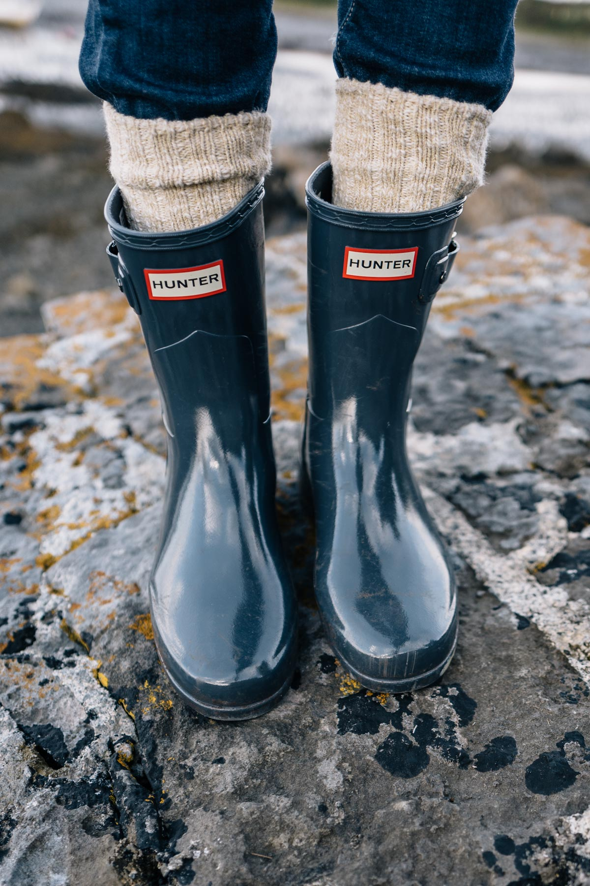 Hunter boots are the perfect shoe choice for Ireland