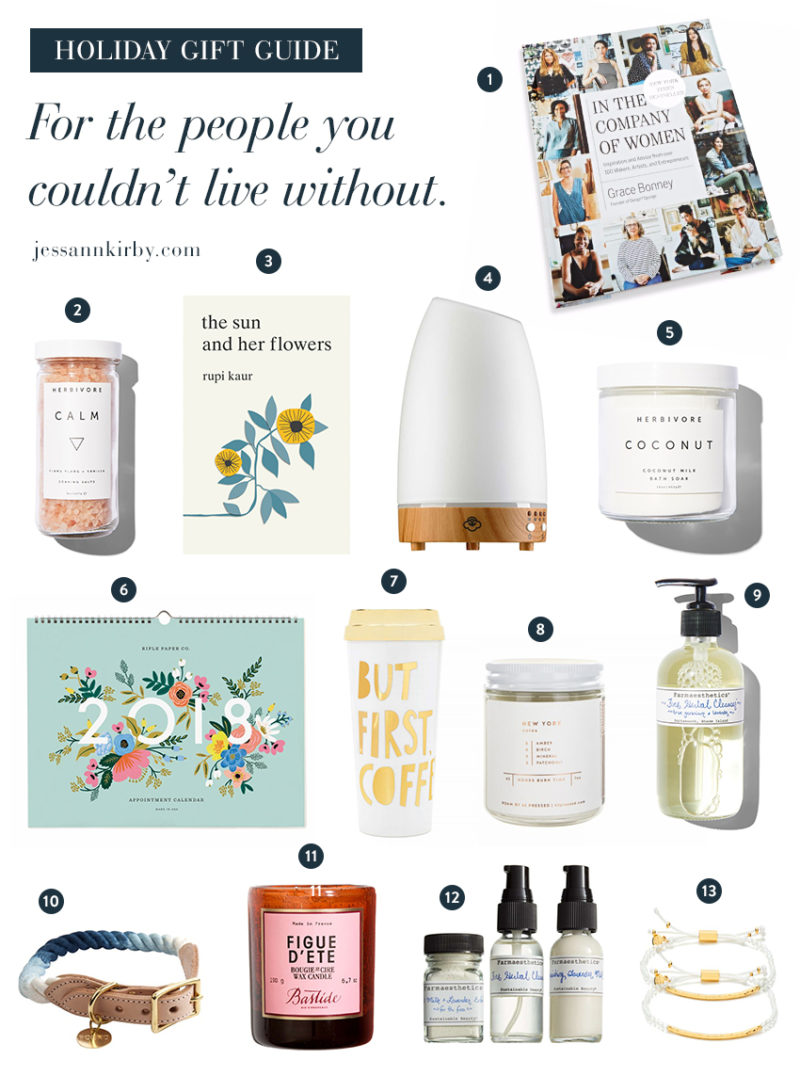 Gift Ideas for the Ones You Can't Live Without