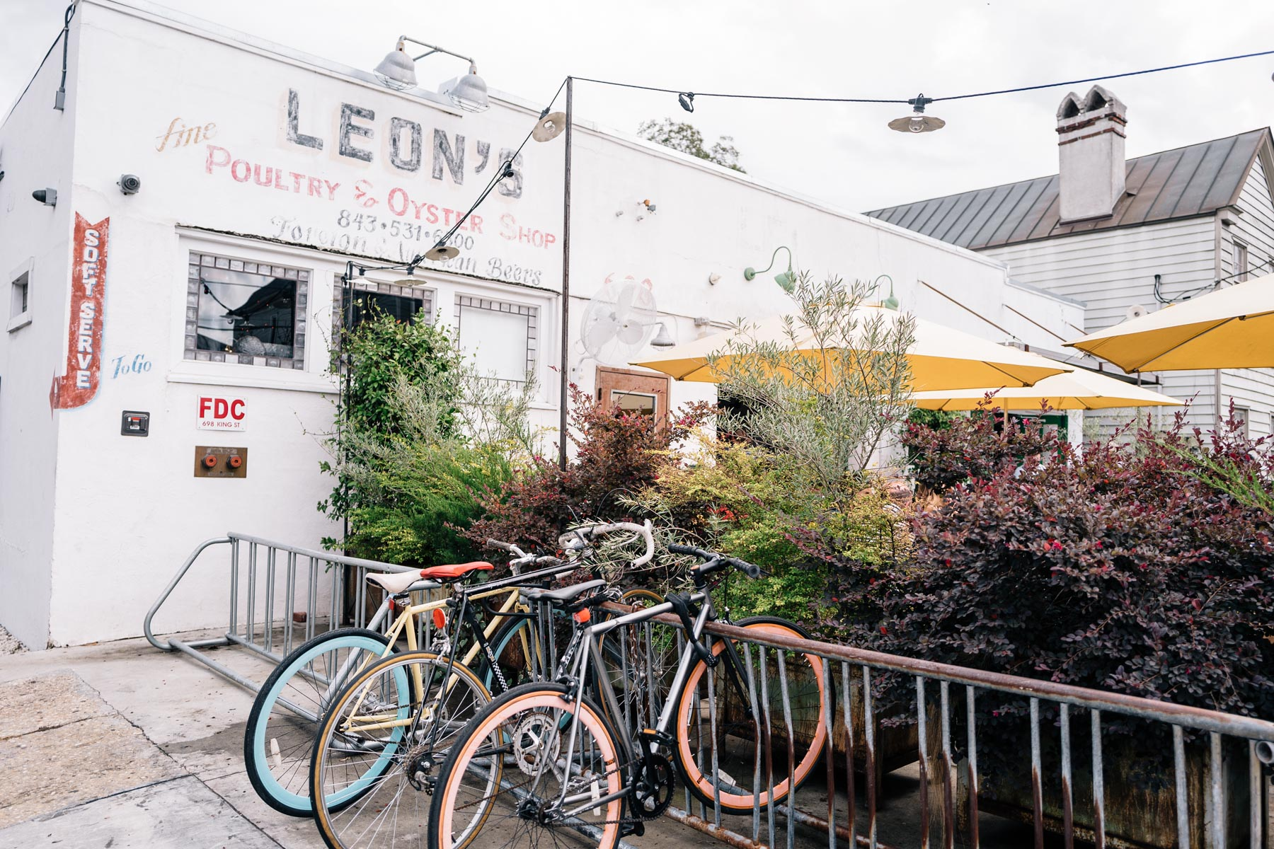 Jess Ann Kirby suggests stopping at Leons Oyster Bar in Charleston South Carolina