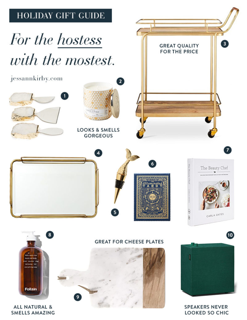Holiday Gift Guide for the Hostess
