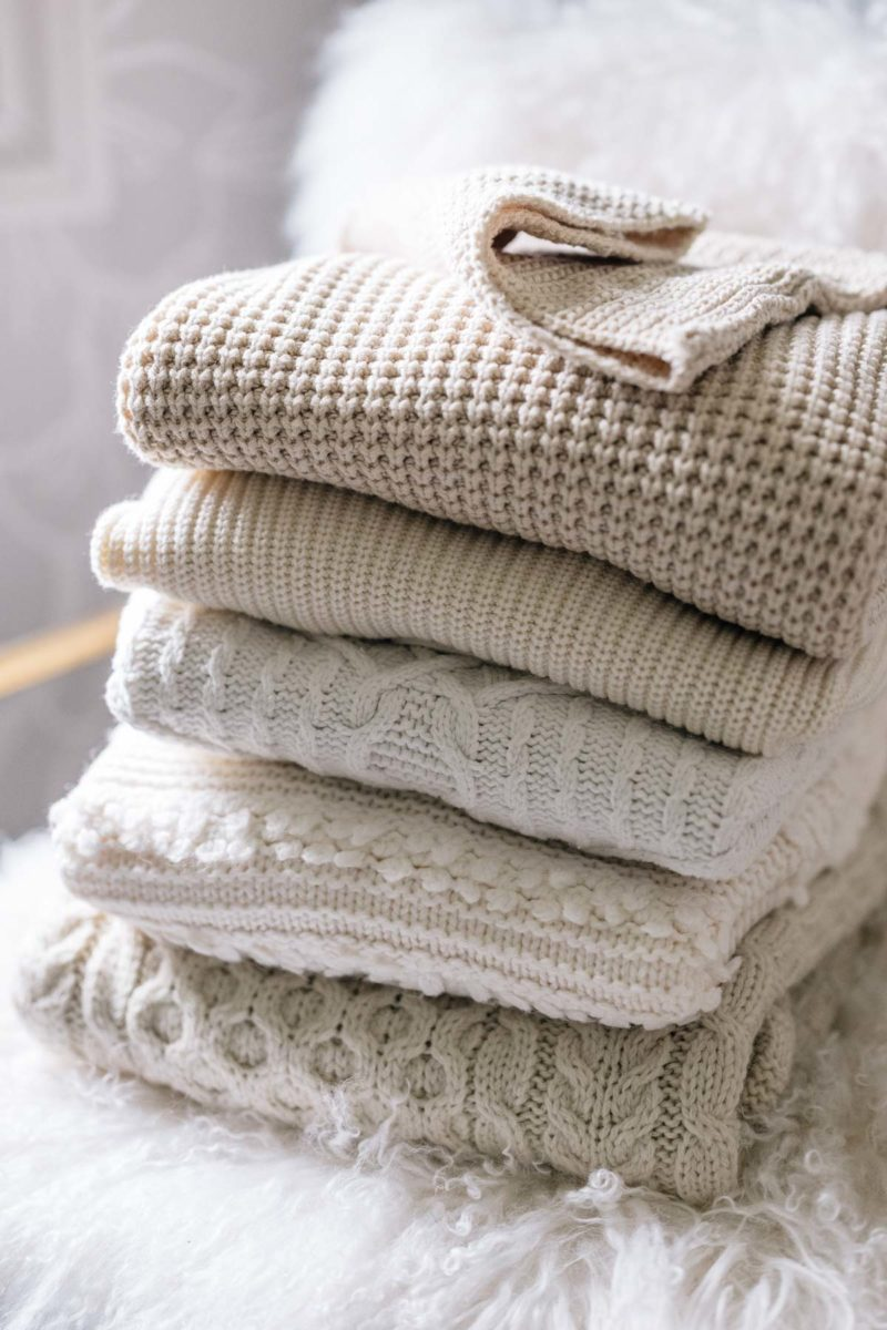 How to Care for Your Sweaters