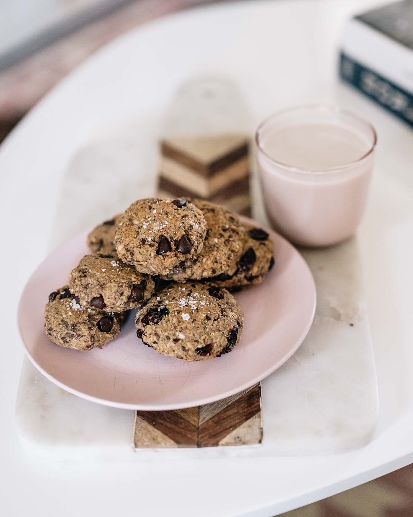 Jess Ann Kirby bakes vegan breakfast cookies for a healthy snack