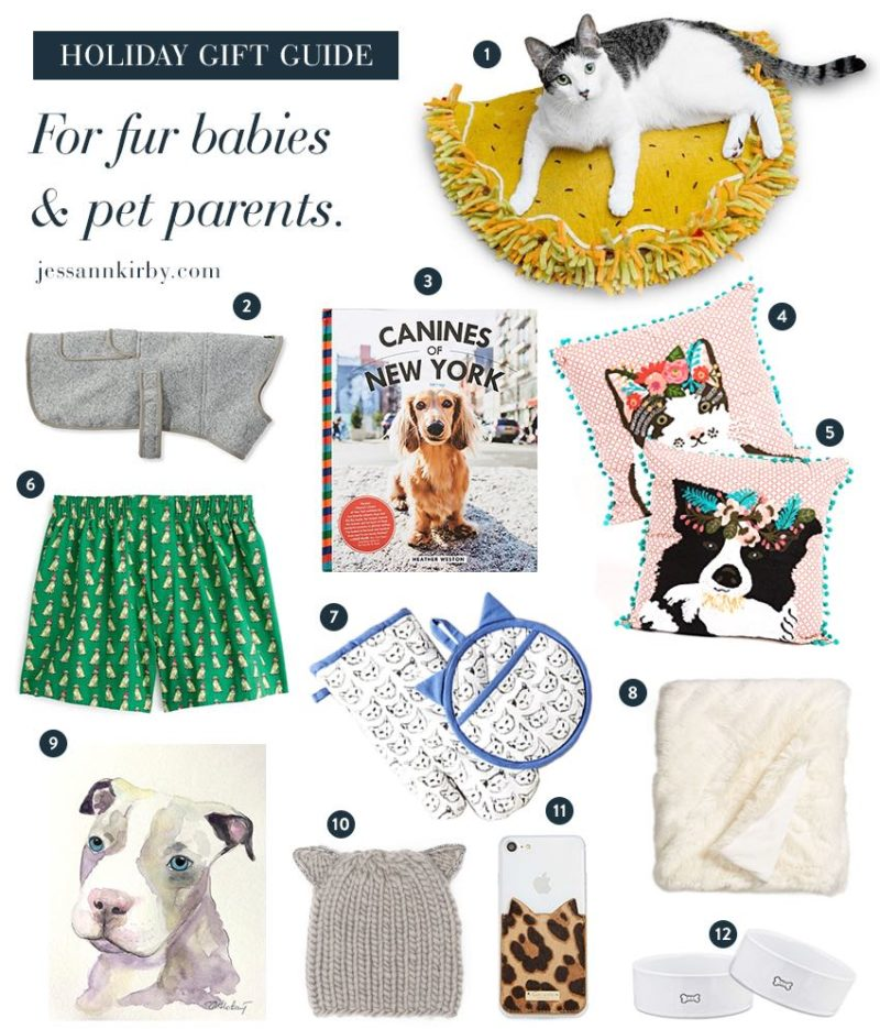 Gift Guide for Fur Babies and Pet Parents