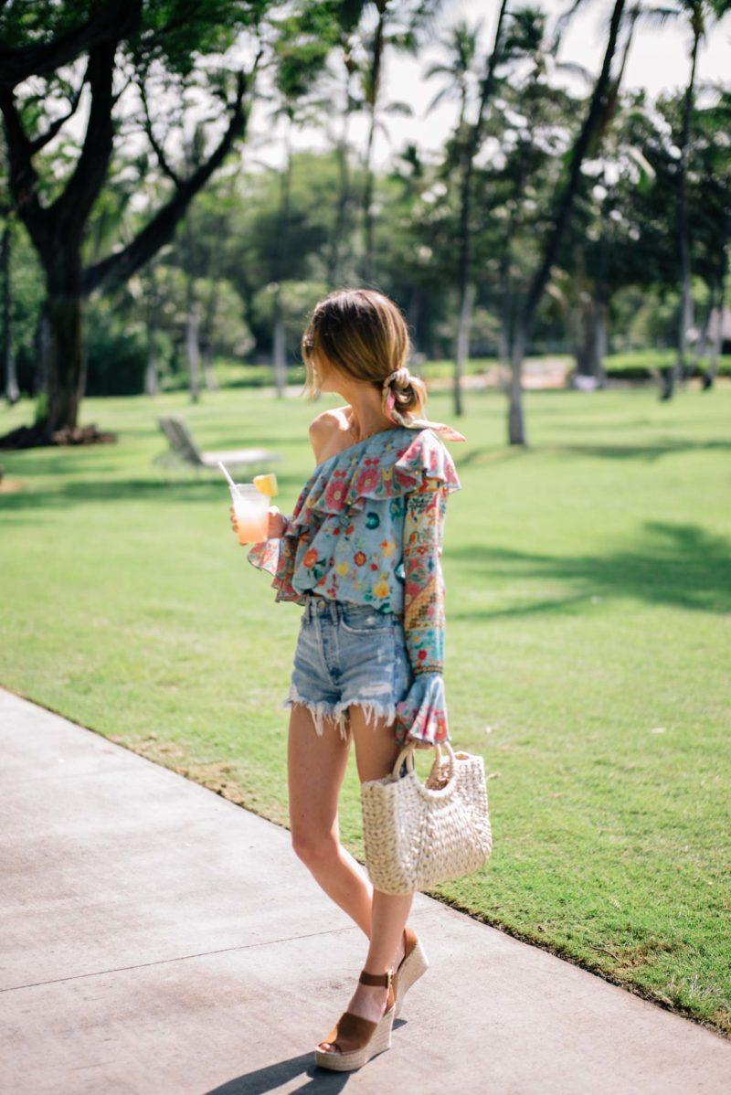 Dressing Up Denim Shorts for Spring (and Summer)