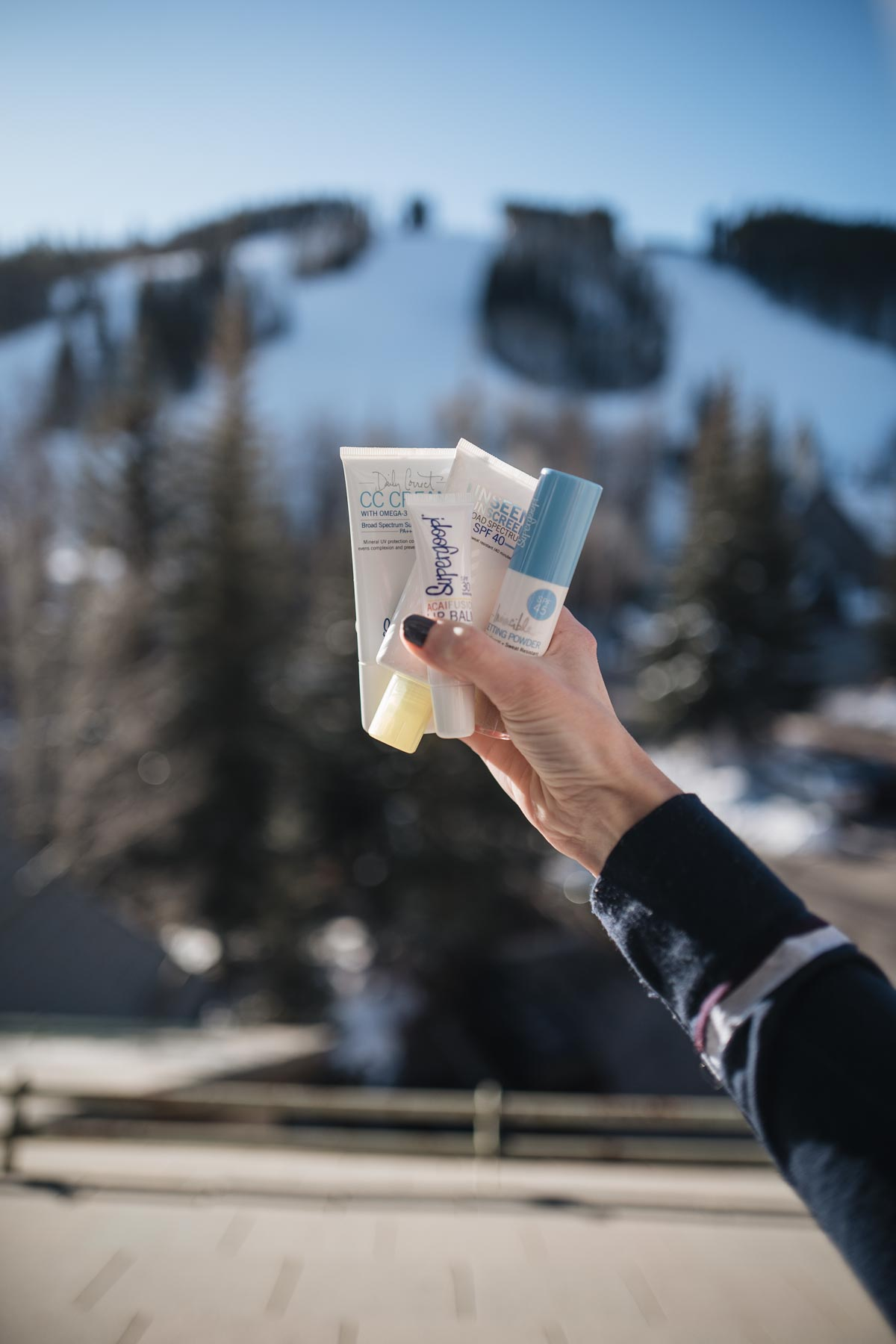 Jess Ann Kirby stays at The Osprey during her stay at Beaver Creek with Supergoop!