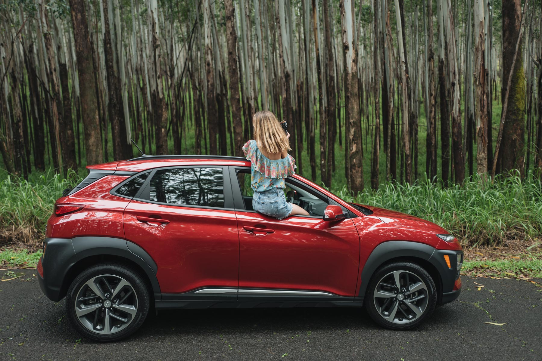 Jess Ann Kirby recommends the Hyundai Kona for adventurous escapes