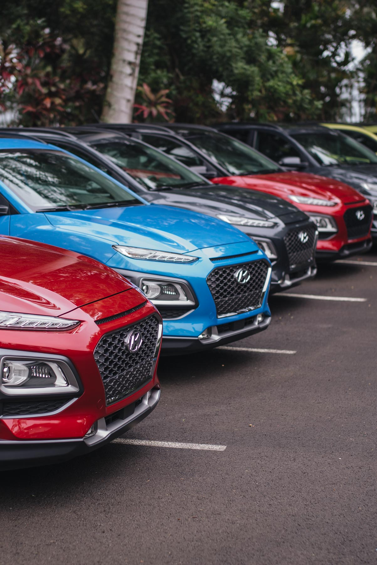 Jess Ann Kirby explores Hawaii in the Hyundai Kona suv