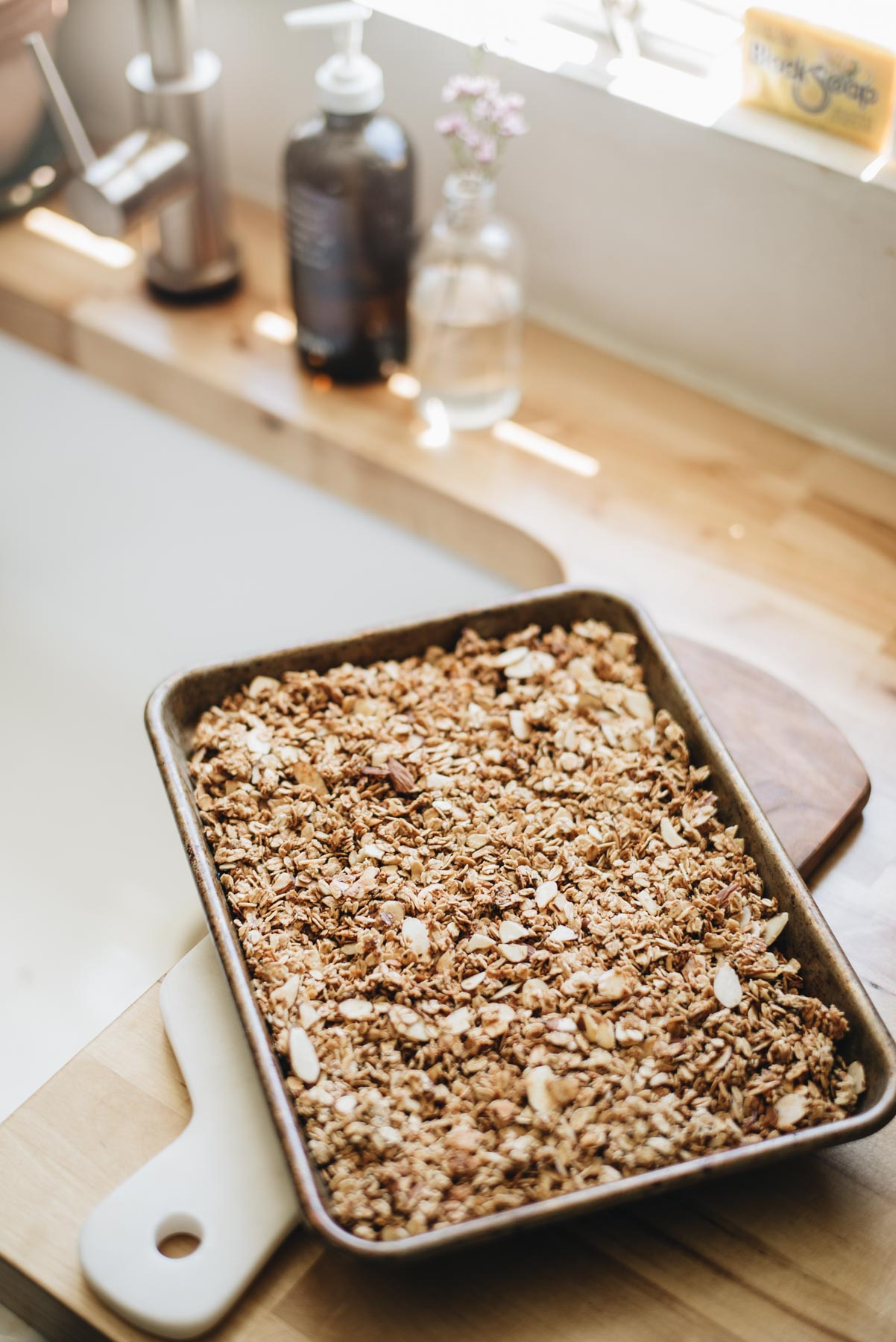 Jess Ann Kirby creates a homemade granola recipe that is customizable based on what's in the pantry