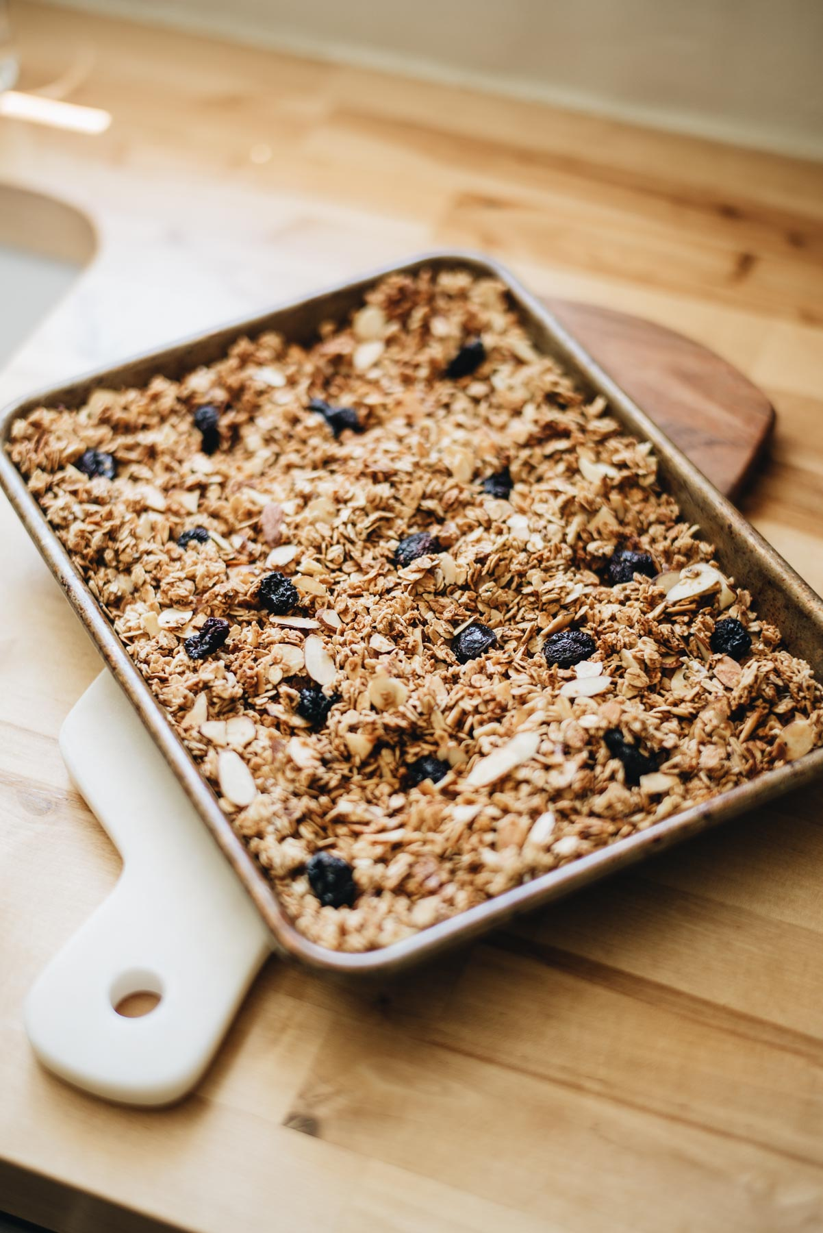 Jess Ann Kirby bakes homemade granola for a healthier alternative to store bought