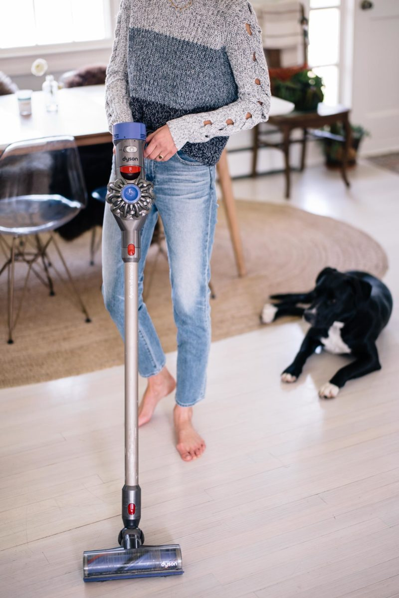 The Dyson Cordless v8 Animal Vacuum is a Game Changer