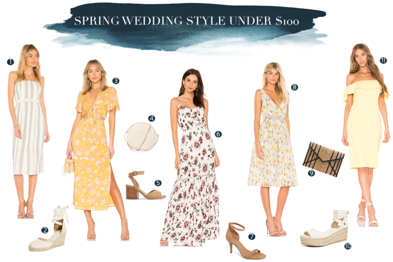 Spring Wedding Outfits (Everything's Under $100)