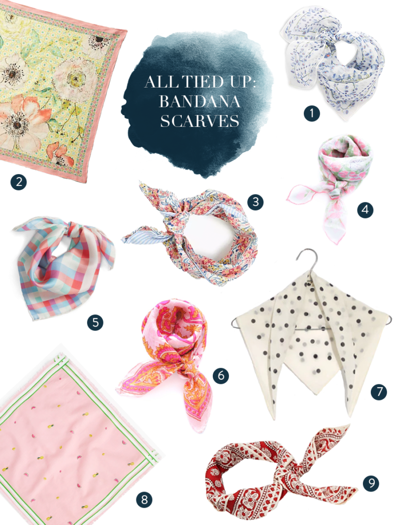 Accessory of the Moment: Bandana Scarves
