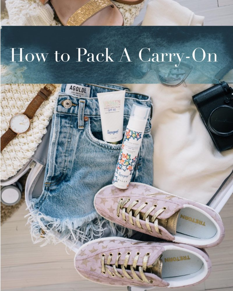 Packing for 10 Days in a Carry-On